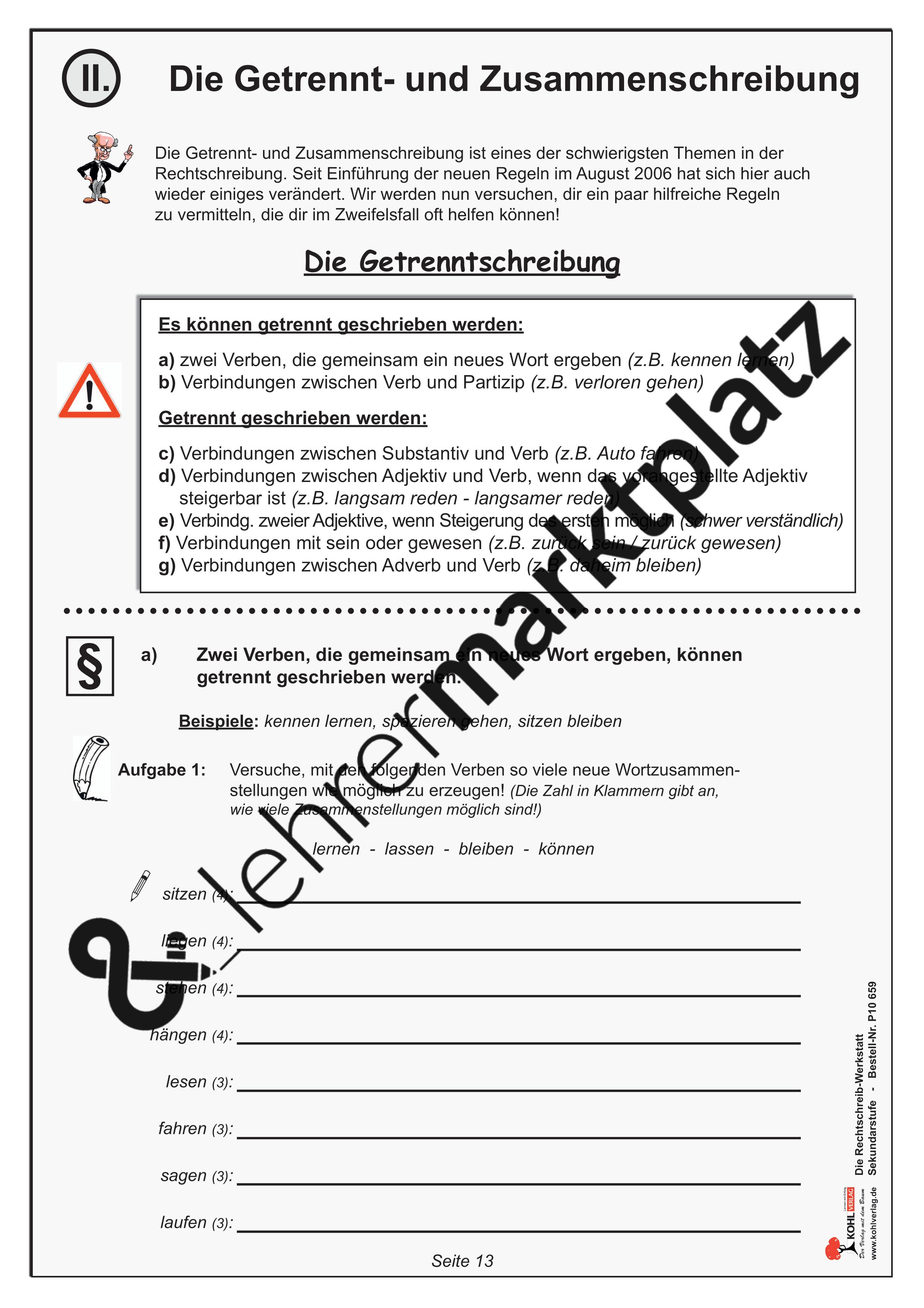 Lern Und übungswerkstatt Rechtschreibung