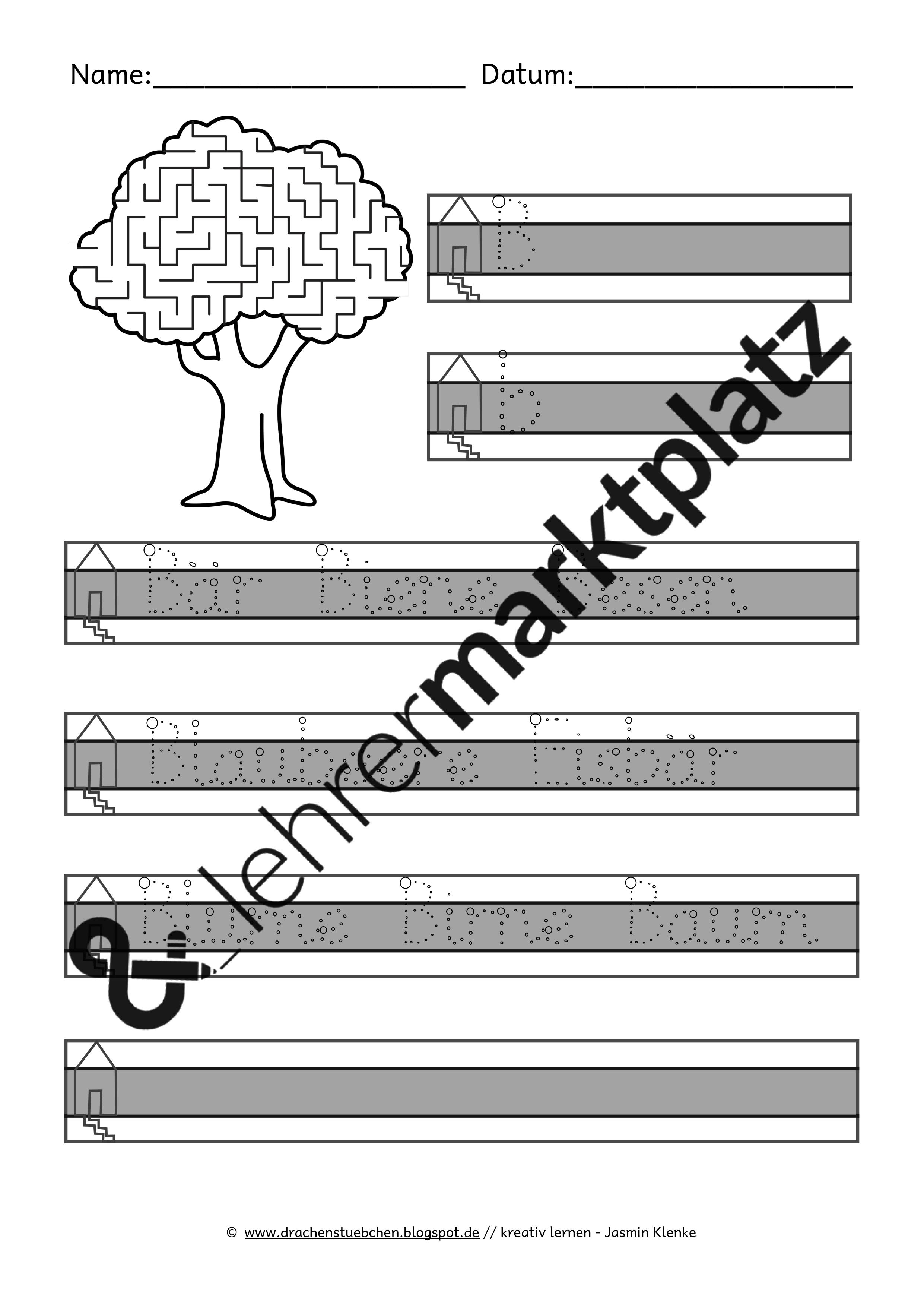 komplettset f r den schreiblehrgang alle buchstaben in grundschrift 200 arbeitsbl tter. Black Bedroom Furniture Sets. Home Design Ideas